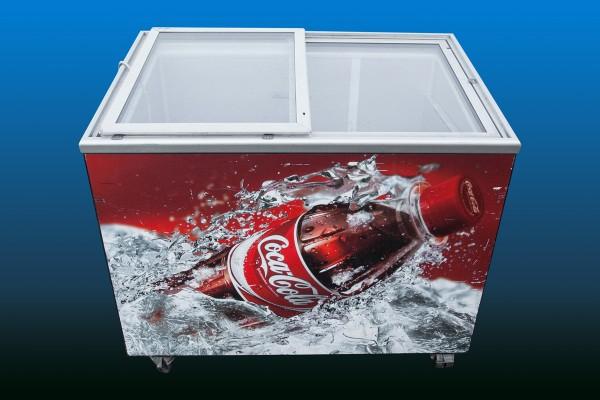 Coca-Cola Kühltruhe