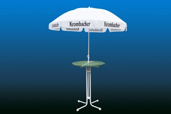 Bistrotisch mit Schirm